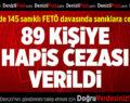 Denizli'de 145 sanıklı FETÖ davasında sanıklara ceza yağdı