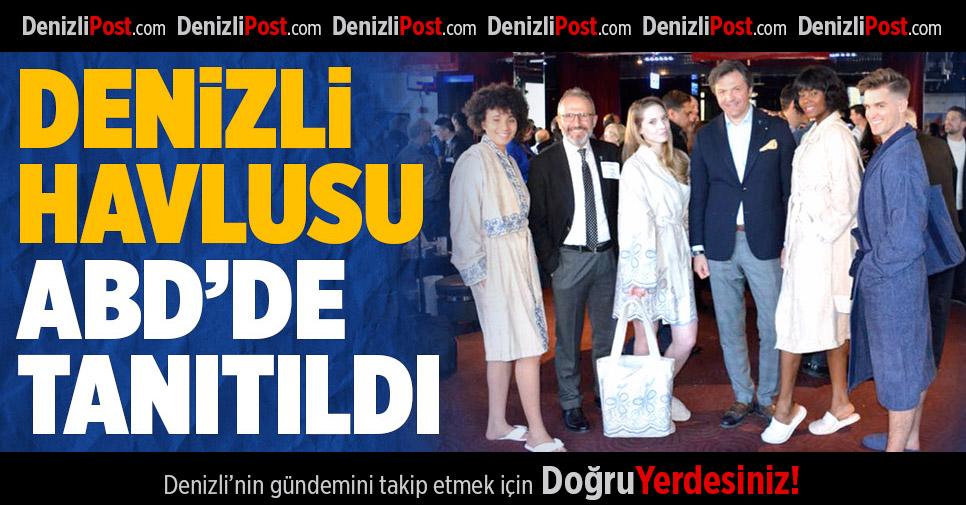 Türk Havlusu ABD'de Tanıtıldı