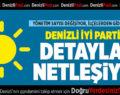 DENİZLİ İYİ PARTİ'DE DETAYLAR NETLEŞİYOR