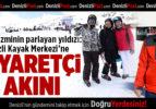 Kış turizminin parlayan yıldızı: Denizli Kayak Merkezi'ne Ziyaretçi Akını