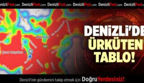DENİZLİ'DE ÜRKÜTEN TABLO