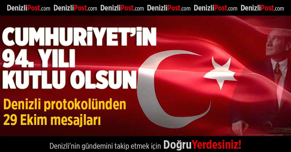Cumhuriyet'in 94. Yılı Kutlu Olsun!