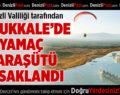 Pamukkale'de Yamaç Paraşütü Yasaklandı