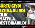 Denizli'de 'Hero' yazılı tişört giyen çocuk serbest bırakıldı