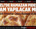 Denizli'de Ramazan pidesine zam yok