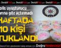 Denizli'de uyuşturucu operasyonlarına 10 tutuklama