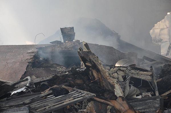 denizlide yangin cikan fabrikada 4 milyon liralik hasar 7994 dhaphoto3 - Denizli'de, yangın çıkan fabrikada hasar büyük
