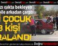 Denizli'de zincirleme kaza: 2'si çocuk 3 yaralı