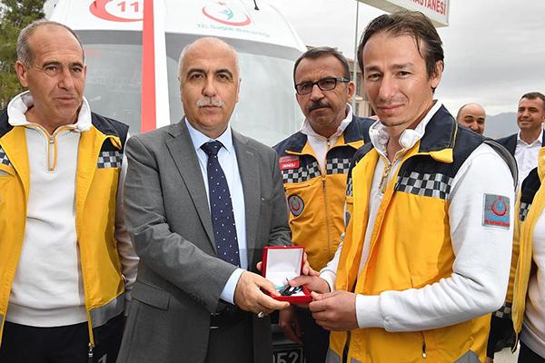 denizlideki ambulans sayisi 106ya yukseldi 6318 dhaphoto1 - Denizli'deki ambulans sayısı 106'ya yükseldi