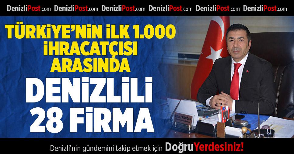 DENİZLİ, İLLER ARASINDA 7'NCİ