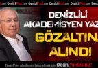 Denizlili Akademisyen Yazar Ankara'da Gözaltına Alındı