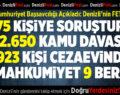 Denizli Cumhuriyet Başsavcılığı Denizli'nin FETÖ Karnesini Açıkladı
