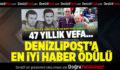 DenizliPost Gazetesi'nin Haberine Ödül Geldi