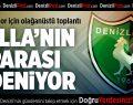 Boykotla sarsılan Denizlispor Ümraniye'de
