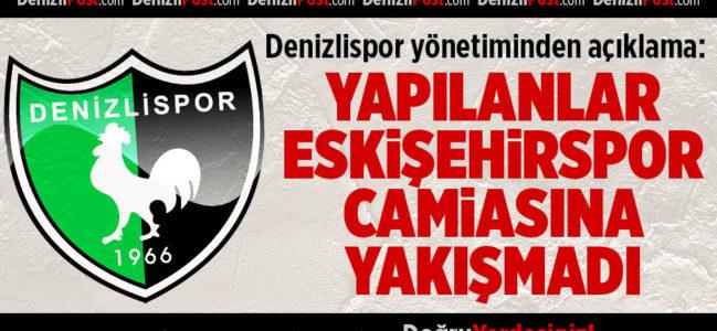 Denizlispor'dan Yazılı Açıklama