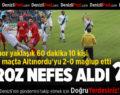 Denizlispor Evinde Altınordu'yu 2-0 Mağlup Etti