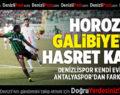 Yukatel Denizlispor – Antalyaspor: 0-3
