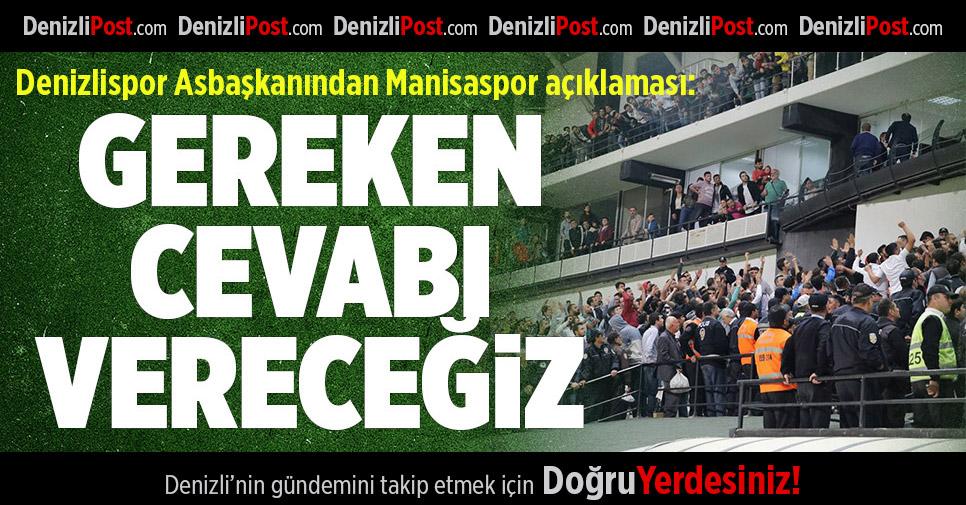 Denizlispor Asbaşkanı'ndan Manisaspor Açıklaması