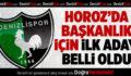 Denizlispor'da İlk Aday Belli Oldu