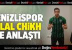 Denizlispor, Bilal Chikh ile imzaladı