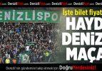 Denizlispor-Adana Demirspor Maçının Bilet fiyatları Belli Oldu