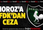 Denizlispor'a PFDK'dan Ceza