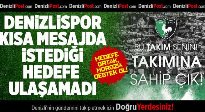 Hedefe Ortak, Horoz'a Destek Olun!