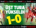 Denizlispor – Düzcespor: 1-0