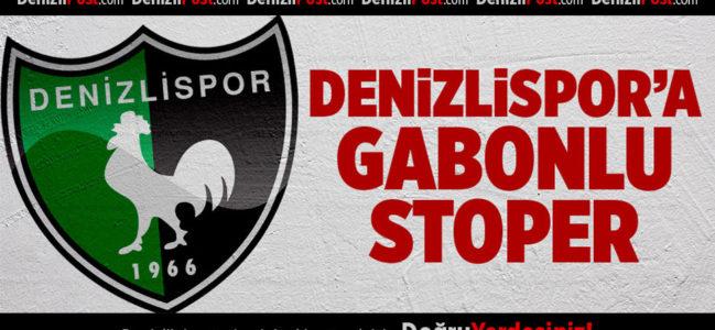 Denizlispor'a Gabonlu stoper