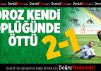 Denizlispor, Gaziantentep Büyükşehir Belediyespor: 2-1
