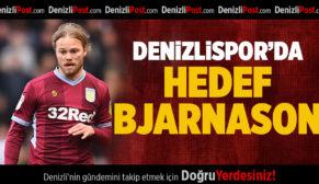 Denizlispor'da hedef Bjarnason