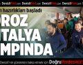 Denizlispor, ikinci yarı hazırlıkları için Antalya'ya gitti