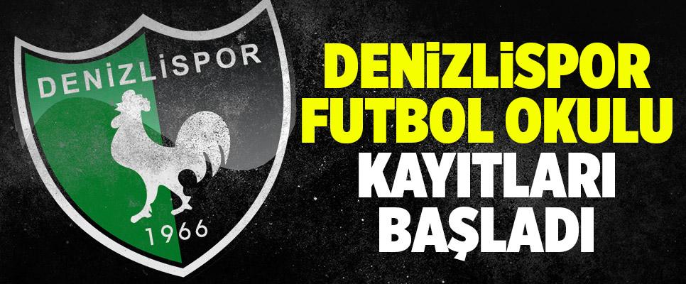 Denizlispor Futbol Okulu Kayıtları Başladı