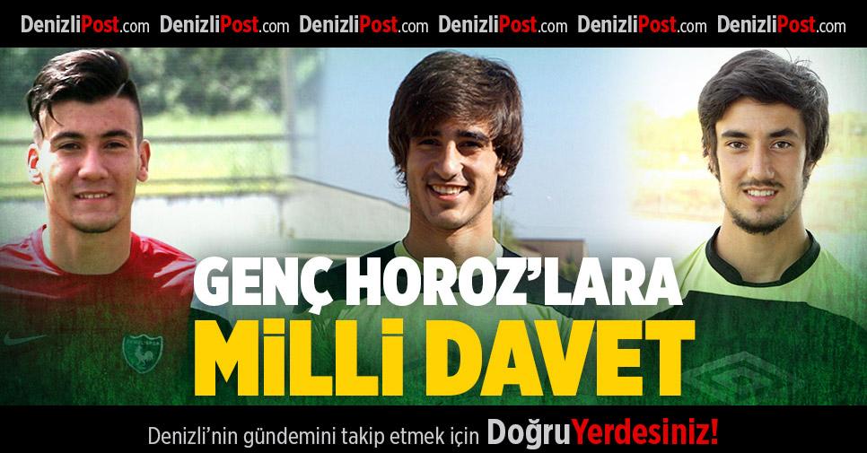 Denizlispor'un Genç Yıldızlarına Milli Davet