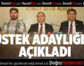 Mustafa Üstek Denizlispor Başkanlığına Adaylığını Açıkladı