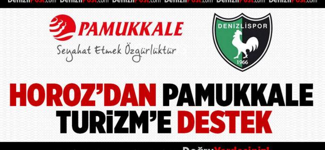Denizlispor'dan Pamukkale Turizm'e Destek