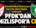 PFDK'dan Denizlispor'a Ceza