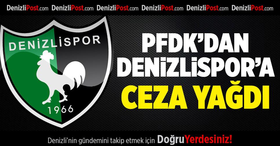 Denizlispor'a Ceza Yağdı