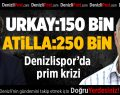 Denizlispor'da prim krizi