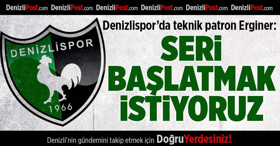 Denizlispor'da Moraller İyi
