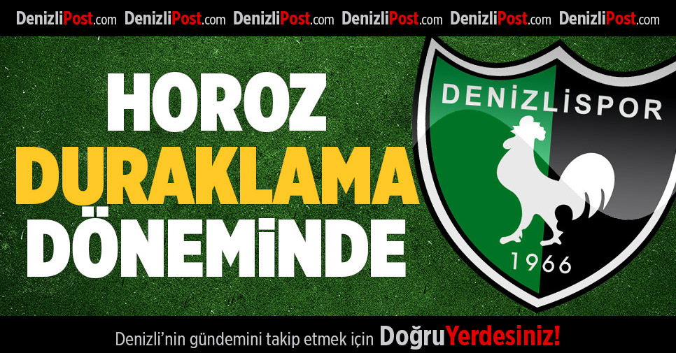 Denizlispor'da duraklama devri