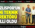 Denizlispor'un Yeni Teknik Direktörü Belli Oldu
