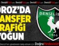 Denizlispor'da transfer trafiği yoğun