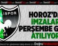 Denizlispor'da imzalar perşembe günü atılacak