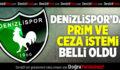 Denizlispor'da prim ve ceza sistemi belli oldu