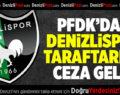 PFDK'dan Denizlispor Taraftarına Ceza