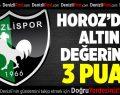 Elazığspor-Denizlispor:0-3