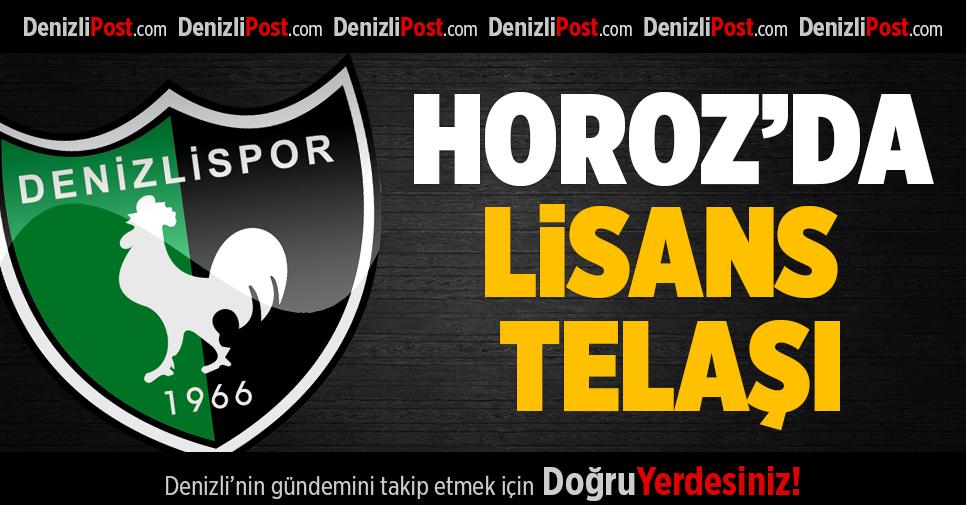 Denizlispor'un lisans telaşı