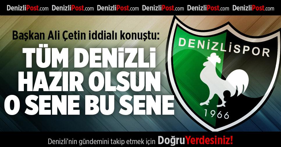 Denizlispor'da hedef Bolu