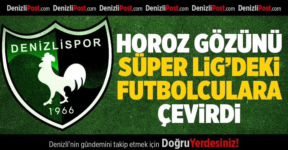 Denizlispor'un gözü Süper Lig'de